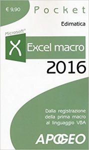 Excel macro 2016