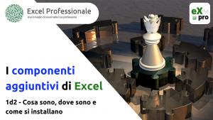 componenti aggiuntivi di Excel