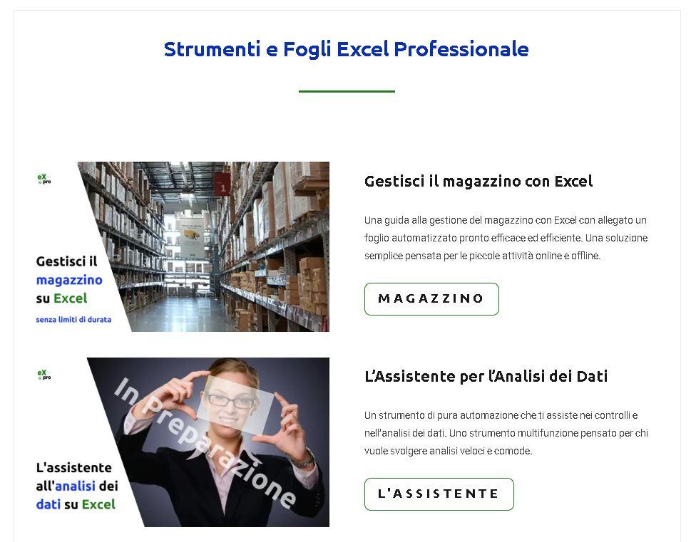 Il corso introduttivo all'automazione di Excel Professionale